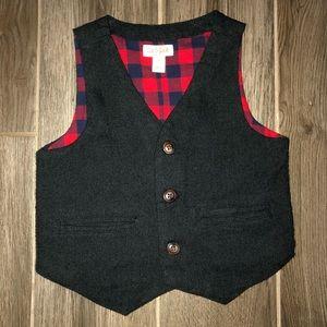Cat & Jack 3T Charcoal Grey Boys Vest